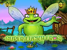 Играть на деньги в Вулкане в Удачливая Супер Лягушка