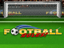 Сорви джек-пот на игровом автомате Football Rules!
