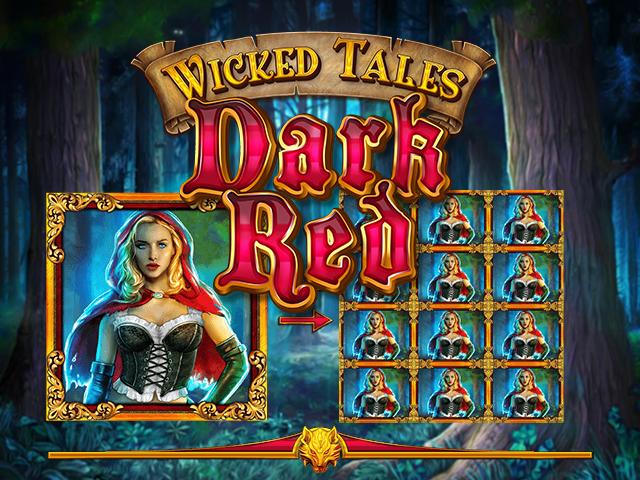 Играть онлайн в автомат Злые Сказки: Багрово-Красный