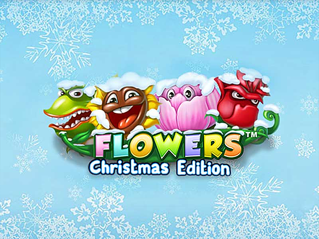Цветы: Рождественское Издание от компании NetEnt: онлайн-автомат